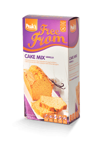 Free from cakemix vanille